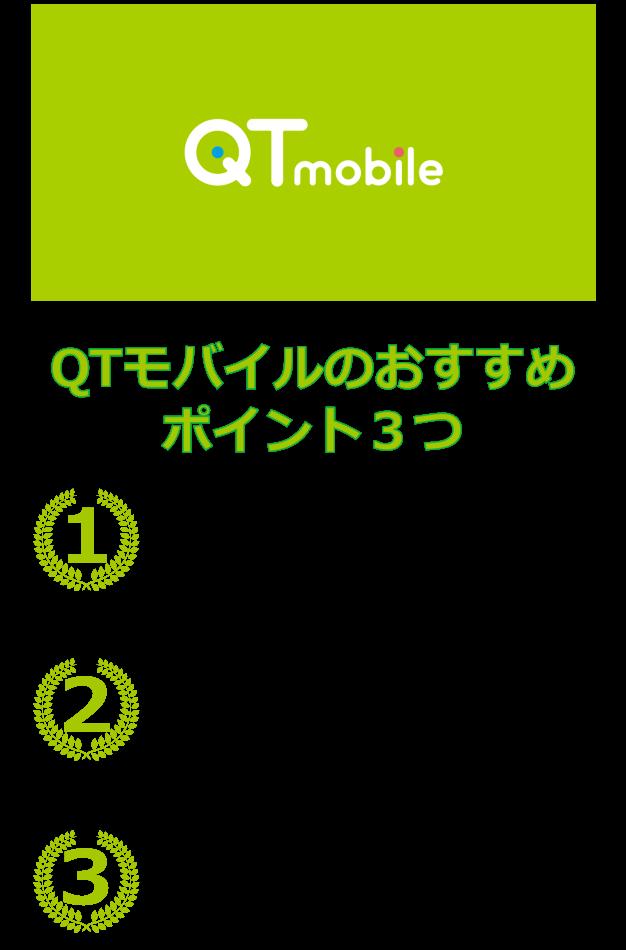 QTモバイル 口コミ